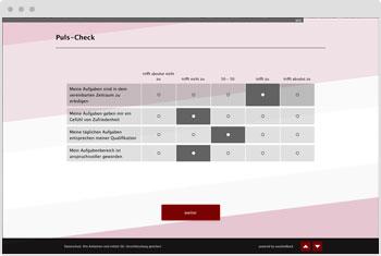 Umfrage-Vorlage: Puls-Check-Befragung