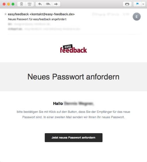 Neues Passwort anfordern