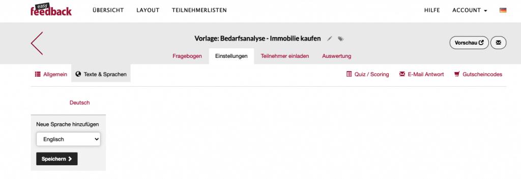 Neue Sprache der Umfrage hinzufügen_DE