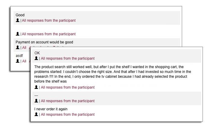 survey development for evaluation